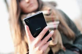 smartphone e persone