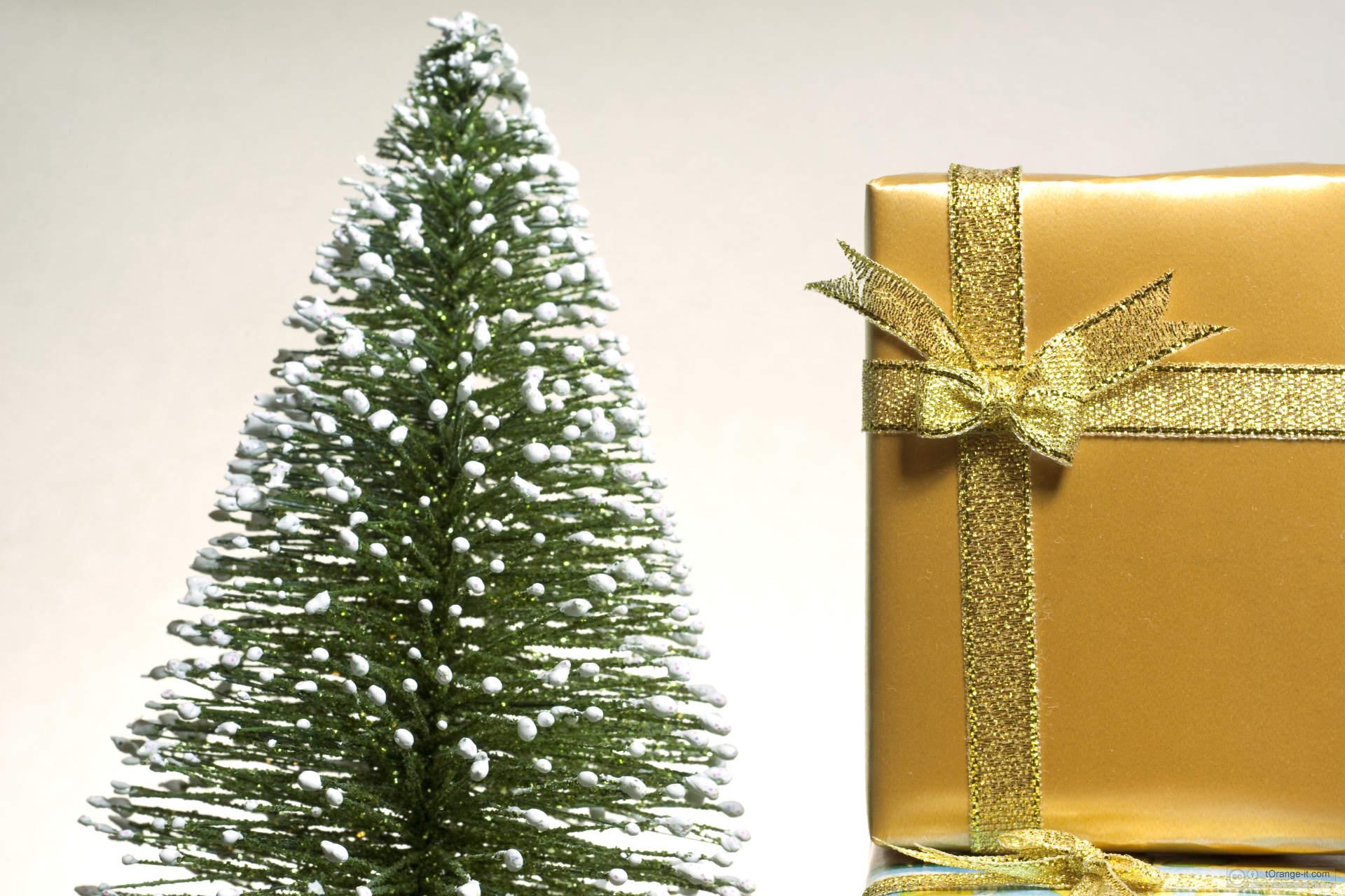 Regalo e Natale Albero