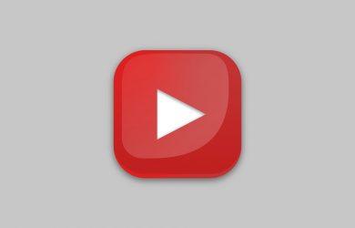 pulsante youtube