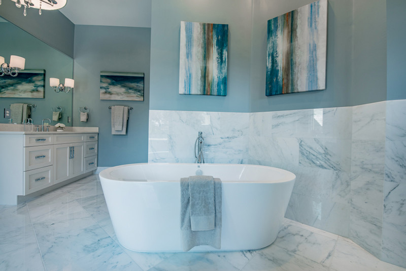 Come trasformare o quasi il vostro bagno in una spa - Trasformare ripostiglio in bagno ...